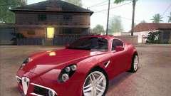 Alfa Romeo 8C Competizione v.2.0 für GTA San Andreas