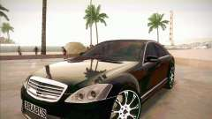 Mercedes-Benz S 500 Brabus Tuning pour GTA San Andreas