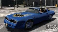 Pontiac Trans Am 1977 pour GTA 4