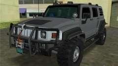 Hummer H3 SUV FBI für GTA Vice City
