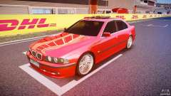 BMW 530I E39 stock chrome wheels
