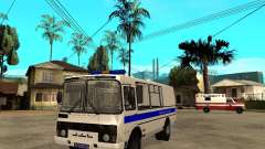 PAZ-3205-Polizei