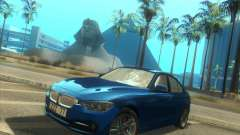 BMW 3 Series F30 2012 für GTA San Andreas