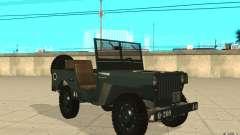 Willys MB für GTA San Andreas