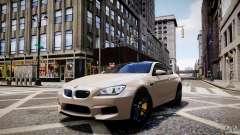 BMW M6 2013 pour GTA 4