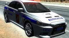 Mitsubishi Lancer Evolution X PPP Polizei