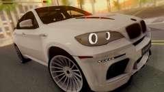 BMW X6 Hamann weiß für GTA San Andreas