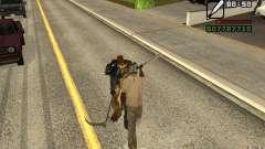 CJ chasse V 2.0 pour GTA San Andreas
