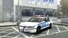 Chevrolet Impala NYCPD POLICE 2003 pour GTA 4
