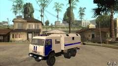 KAMAZ-Polizei