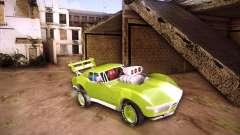 Chevrolet Corvette drag für GTA San Andreas