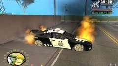 Brennenden Auto in GTA 4