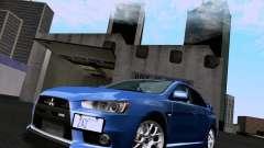 Mitsubishi Lancer Evolution X 2008 für GTA San Andreas