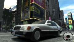 Mercedes-Benz 600SEL wheel2 tinted