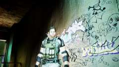 Chris from Resident Evil 5