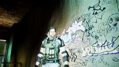 Chris from Resident Evil 5