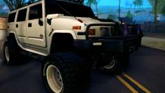 Hummer H2 Monster 4x4 pour GTA San Andreas