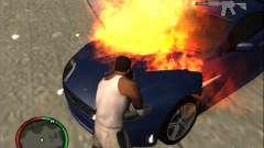 Auto-einen Feuerlöscher Löschmittel