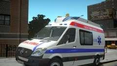 Mercedes-Benz Sprinter Azerbaijan Ambulance v0.2
