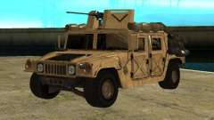Hummer H1 HMMWV with mounted Cal.50 pour GTA San Andreas