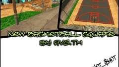 La nouvelle Cour de basket-ball