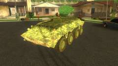 BTR-80 elektronische camouflage