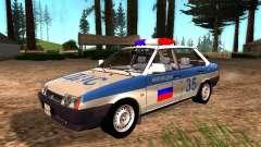 VAZ 2109 Polizei