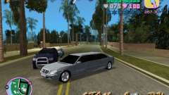Mercedes-Benz S600L für GTA Vice City