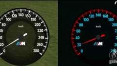 Nouveau compteur de vitesse BMW