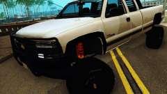 Chevrolet Silverado 2500HD 2001 pour GTA San Andreas