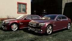 Écrans de menu et démarrage BMW HAMANN dans GTA
