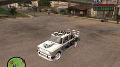 VAZ 2101 Auto-tuning für GTA San Andreas