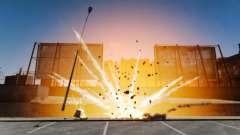 Große und realistische Explosionen