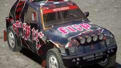 Mitsubishi Pajero Proto Dakar vinyle 3