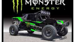 Écran de démarrage Monster Energy