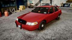 Ford Crown Victoria Detective v4.7 red lights pour GTA 4