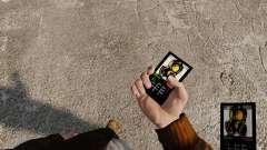 Das Thema der Mercenaries 2 für Mobiltelefone
