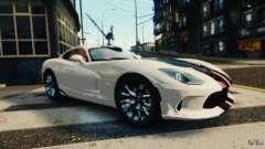 Dodge Viper GTS 2013 pour GTA 4
