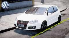 Volkswagen Golf 5 GTI pour GTA 4