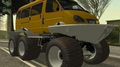 Gazelle 2705 Swamp buggy