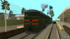 Lokomotive 2te116 für GTA San Andreas
