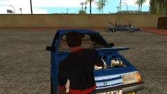 Öffne den Kofferraum und Motorhaube manuell