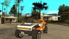 Hummer HX Concept from DiRT 2 für GTA San Andreas