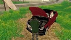 CLEO mod: CJ kann das Auto reparieren