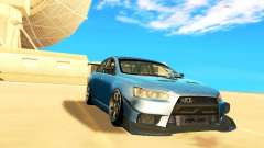 Mitsubishi Lancer Evolution X Time Attack