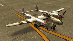 P38 Lightning pour GTA San Andreas