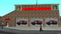 Caserne de pompiers russe à San Fierro