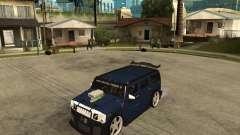 AMG H2 HUMMER Jvt HARD exclusive TUNING für GTA San Andreas