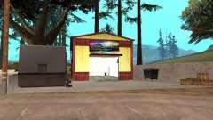 Neue Farbe-Garage in Dillimore