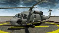 Der Hubschrauber der Sikorsky SH-60 Seahawk
